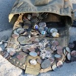 Beach Metal Detecting Finds Pouch